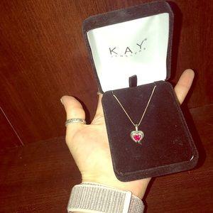 Beautiful Kay heart necklace 🤩